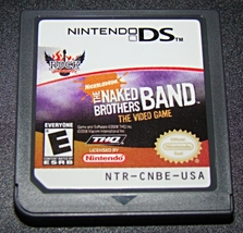 Nintendo DS - NICKELODEON - THE NAKED BROTHERS BAND - THE VIDEO GAME (Ga... - $5.00