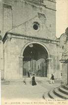 France, Avignon, Portique de Notre-Dame des Doms, early 1900s unused Postcard  - $9.99