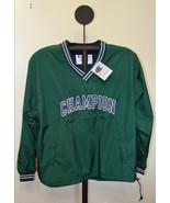 Champion Mens Green Weather Resistance Pull Over Windbreaker Jacket - $19.95