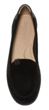 Sperry Womens Coil Mia Suede Black Slip-On Flat Boat Loafers Shoes 10W STS99652 image 3