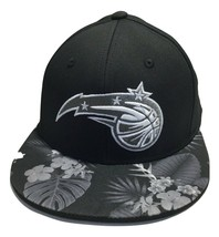 adidas NBA Orlando Magic Cap, Large, XL Men's Hat, Flat Brim, Hawaiian - $18.43