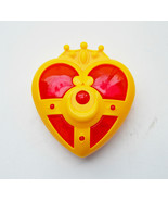 NEW 90s Japan Sailor Moon Gashapon transformation heart brooch compact c... - $44.54