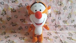 Disney Winnie The Pooh Tigger Orange Big Large Head Plush Stuffed Animal... - $11.75