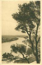 France, Le Rhone a Avignon vu du Rocher du Dom, early 1900s unused Postc... - $6.77