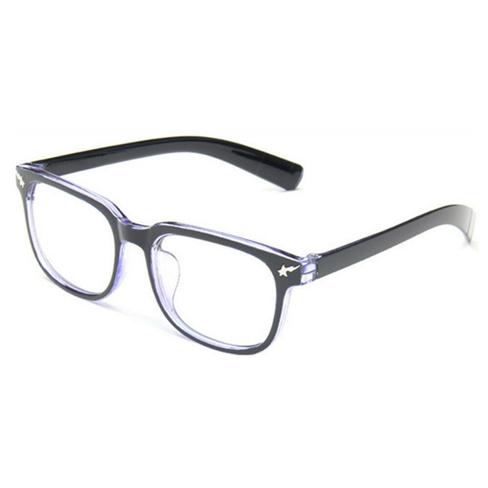 Fashion Classic Nerd Clear Lens Glasses Frame Casual Daily Eyewear Eyeglass
