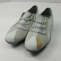 Footjoy Summer Series Golf Shoes White Rubber Spikes Lace Up 98854 Womens Size 7 - $30.34
