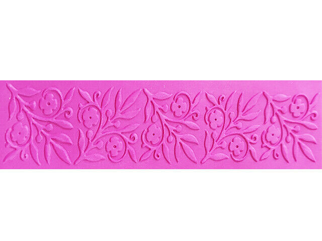 Darice Floral Squares Border Embossing Folder, Great for Cards!