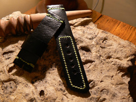 Watch strap Leather  Handmade bands strapwatch for big Watch fit for Panerai - $21.25