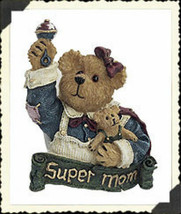 "Boyds BearWear ""Ima Mom w/Sweet Pea.."" Lapel Pin -#26162--New-2003 -Retired - $6.99"