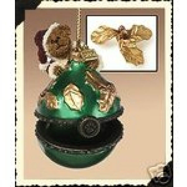 "Boyds Beary Best Ornament ""Nicklas Santabeary"" #25205 - NIB- 2004 -  Retired"