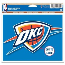 Oklahoma City Thunder Official NBA Window Cling Decal by Wincraft [Misc.] - $4.21