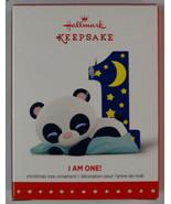 New! Hallmark Keepsake Ornament: I Am One! Baby's First Year - $12.82