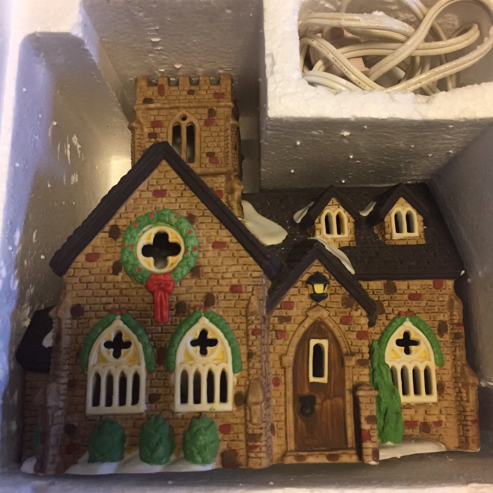 Dept. 56 Heritage Collection Dickens' Village Series Knottinghill Church #5582-4
