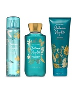 Bath & Body Works Autumn Nights 3 Piece Set - Shower Gel, Body Cream, Mist - $64.99