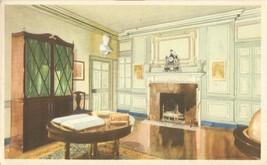 The Library at Mount Vernon, VA, 1934 unused Postcard  - $5.99