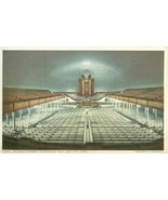 Interior Mormon Tabernacle, Salt Lake City, Utah, early 1900s unused Pos... - $4.99