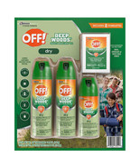 OFF! Deep Woods Insect Repellent VIII Dry Long Lasting Spray & 8 Towelet... - $28.49