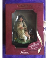 1764 Kaya with Pups American Girl Handcrafted Keepsake Ornament W/ Box ... - $23.95