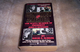 Kennedy Book-  Contract On America 1st Zebra Edition - $5.00