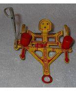 Marx Tin Litho Corn Planter Farm Toy Ca.1950 - $75.00