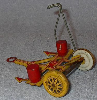 Marx Tin Litho Corn Planter Farm Toy Ca.1950