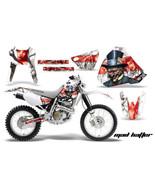 Dirt Bike Graphics Kit Decal Sticker Wrap For Honda XR400R 1996-2004 HAT... - $158.35