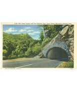 The Lower Tunnel with the Chimney Tops, Great Smoky Mountains National Park - $7.99