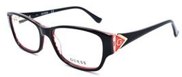 GUESS GU2748 005 Women's Eyeglasses Frames 53-16-140 Black / Red - $65.22
