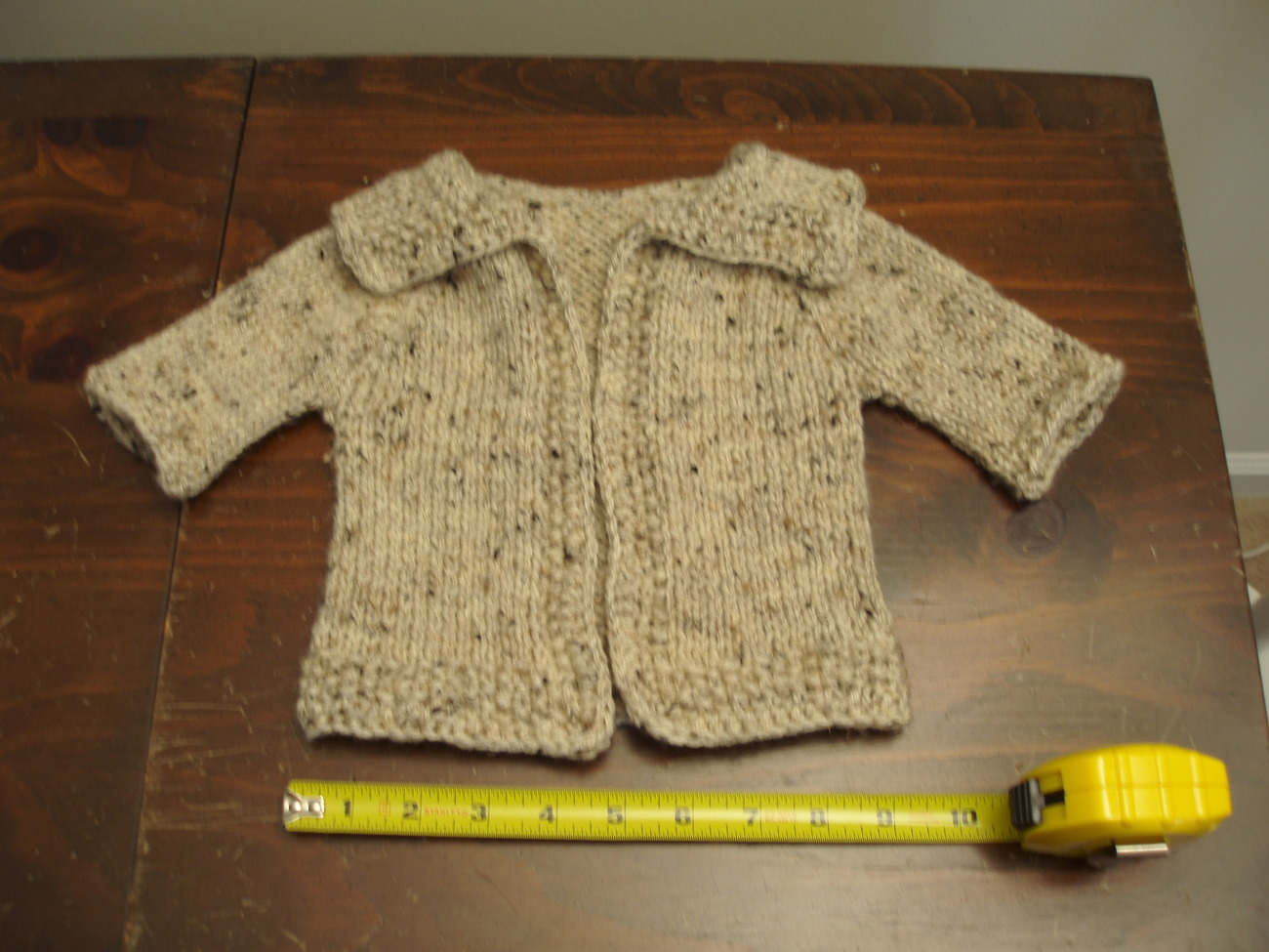 Handmade crocheted - Baby/Child's Sweater with Hat