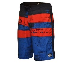 quiksilver men's guys cypher FLOORED YOUNG GUNS RED boardshorts new size 30 - $39.99