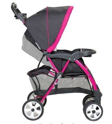 hello kitty girls pink baby stroller carriage car seat safety travel system set strollers. Black Bedroom Furniture Sets. Home Design Ideas