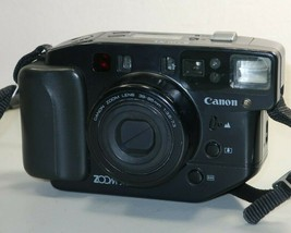 Canon Sure Shot Zoom XL 35mm Large Film Point Shoot Camera *Powers on ISSUES* - $22.76