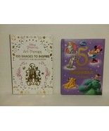 DISNEY: ART THERAPY COLORING BOOK + 5 MINUTE SNUGGLE STORIES - FREE SHIP... - $18.70