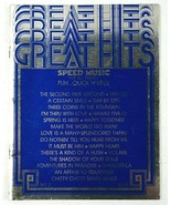 Great Hits Speed Music For All Organs 1972 Vintage Organ Solo Music Book - $15.99