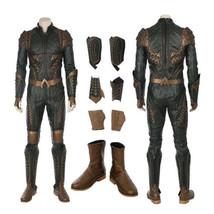 Justice League Arthur Curry Aquaman Cosplay Costume Halloween Jumpsuit O... - $296.99