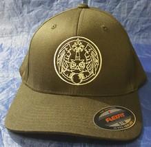 CIA Central Intelligence Agency SOG Owl w Crystal Ball FlexFit Hat - $37.49