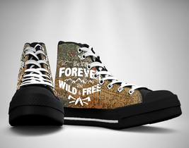 Wild And Free  Canvas Sneakers Shoes - $49.99