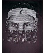 LeBron James 6 Miami Heat NBA UNK Basketball Men's Black T-shirt M - $29.69