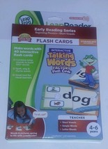Leap Frog Tag Interactive Talking Words Factory Flash Cards Phonics Lear... - $8.90