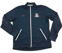 NIKE Mens Full Zip Jacket Collared UofA Long Sleeve Zip-Up UNIVERSITY OF... - $27.33