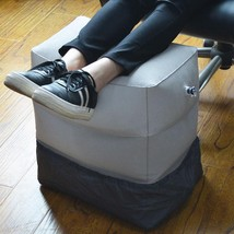 Travel Pillow Inflatable Rest Foot Footrest Leg Bed Portable Cushion Pad... - €17,61 EUR