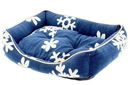 Fashion Pet Bed Washable Pet Nest Cat Bed Dog House S - Blue - $22.76