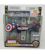 Captain America vs. Red Skull Marvel Legends Face Off Arch-Enemies Toy B... - $88.88