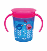 Munchkin 6oz Miracle 360° Deco Trainer Cup Blue Bird - $15.35
