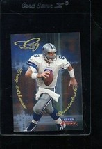 1999 Fleer Focus #5 Glimmer Men Troy Aikman Nmmt *5148 - $1.98