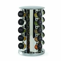 Kamenstein Revolving 20-Jar Countertop Spice Rack Tower Organizer Free s... - $71.73