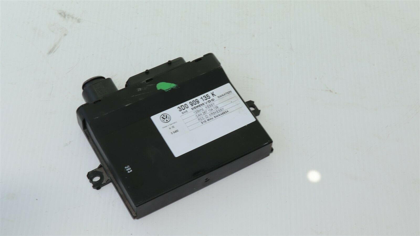 Keyless Entry Kessy Theft Locking Control Module Ecu Ecm 3d0909135K Bentley