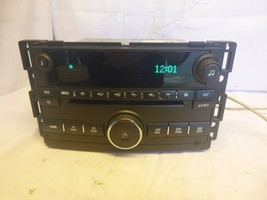 09 10 Chevrolet Cobalt Am Fm Radio Cd Player with Aux for Ipod 25834576 ... - $37.62