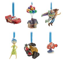 Disney Store Pixar 30th Anniversary Ornament Set of 6 Limited Edition of... - $128.68