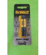 "Dewalt  Flex Torq 2 1/4"" T40 Two Pack Impact Driver Bits - $8.86"